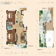 融城7英里2室2厅1卫85平方米户型图