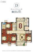 海亮滨河壹号4室2厅2卫0平方米户型图