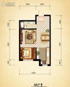 盛世温泉嘉苑0室0厅0卫49平方米户型图