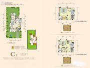 奥园城市天地3室2厅2卫93平方米户型图