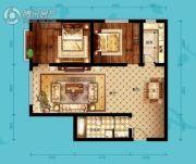 北海・水印泉山2室2厅1卫107平方米户型图