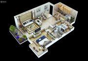 满堂悦MOMΛ2室2厅1卫90平方米户型图
