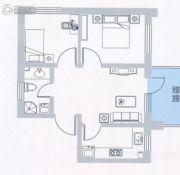 海上钓鱼台2室1厅1卫0平方米户型图