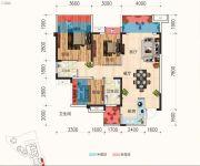 天立・凤凰唐城3室2厅2卫99平方米户型图