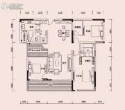 恩瑞御西湖3室2厅3卫160平方米户型图