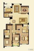 金鼎湾如院4室4厅3卫200平方米户型图