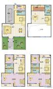 星威园 别墅5室2厅4卫254平方米户型图
