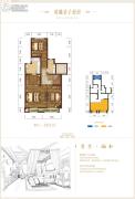 碧桂园保利云禧3室1厅2卫0平方米户型图