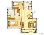 皇山华府2室2厅1卫0平方米户型图