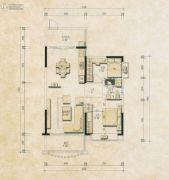 君和园2室2厅1卫98--99平方米户型图