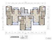 随州锦绣大地3室2厅2卫100--122平方米户型图