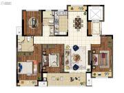上悦城4室2厅2卫144平方米户型图