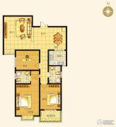 西班牙小镇3室2厅2卫0平方米户型图