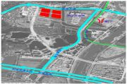 中国铁建・环球中心交通图