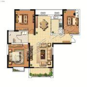 山峰财富广场2室2厅1卫116平方米户型图