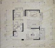 镒建世纪城3室2厅1卫89平方米户型图