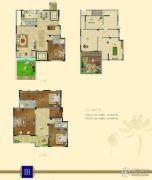 瀛洲・梧桐里4室3厅4卫246平方米户型图