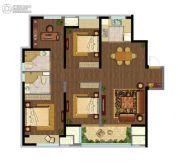 融创玉兰公馆4室2厅2卫128平方米户型图