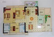 越秀滨海御城3室2厅2卫122平方米户型图