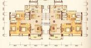 澳华新城3室2厅2卫113平方米户型图