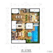 北京城建・海云家园131平方米户型图