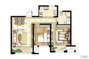 昆山印象欧洲3室2厅1卫0平方米户型图