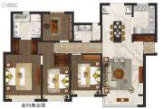 仁恒公园世纪4室2厅2卫0平方米户型图