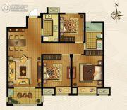 梅香雅舍3室2厅1卫111平方米户型图