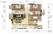 融创凯旋东岸3室2厅1卫98平方米户型图