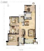 德润花园4室0厅0卫0平方米户型图
