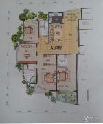 黄金国际4室2厅3卫223平方米户型图