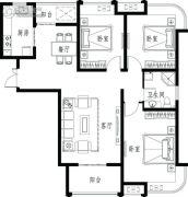 龙商荣域3室2厅1卫0平方米户型图