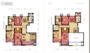和众・曲江城阅4室2厅2卫245平方米户型图
