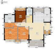 东岭国金中心3室0厅2卫113平方米户型图