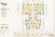 海博熙泰2室2厅2卫101平方米户型图