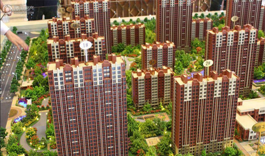莱蒙顺泽·水榭花城实景图
