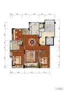 合肥当代MOMΛ3室2厅1卫0平方米户型图