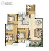 华宇林泉雅舍4室2厅2卫108平方米户型图