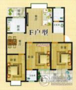 庆华阳光3室2厅2卫0平方米户型图