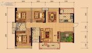 春晖国际城4室2厅2卫0平方米户型图