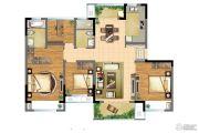 朗诗青春街区4室2厅2卫118平方米户型图