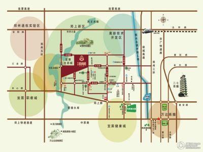 荥阳市区地图最新版