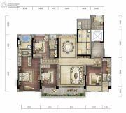 碧桂园中俊天玺4室2厅3卫0平方米户型图