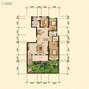 星河上城3室2厅2卫0平方米户型图