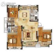 升华・翡翠一品2室2厅2卫132平方米户型图