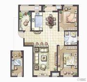 哈尔滨星光耀广场2室2厅1卫0平方米户型图