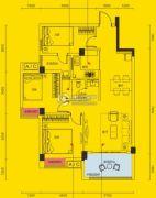 象山博望园3室2厅2卫0平方米户型图