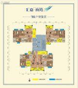 汇嘉・南湾3室2厅2卫87--109平方米户型图