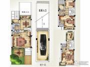 绿洲天逸城4室2厅3卫170平方米户型图