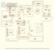建业・新城半岛4室2厅2卫167平方米户型图